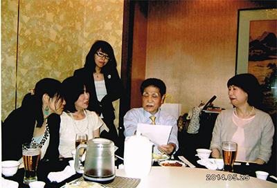 算命学の奥義を、日本の第一人者清水南穂師より学ぶ
